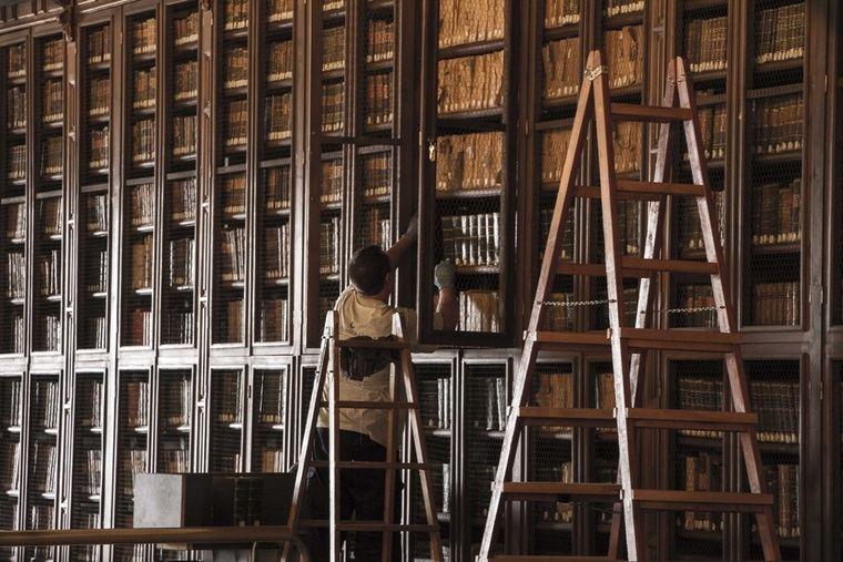 La biblioteca del Hospital Real de la UGR