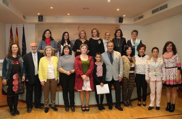 Representantes del Colegio Jardín de Arena
