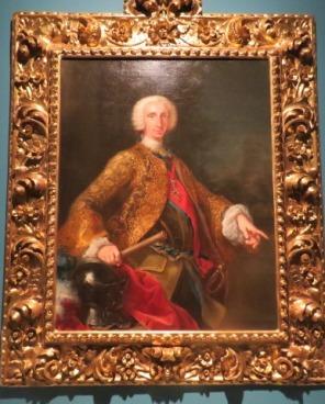 Don Carlos de Borbón, rey de las Dos Sicilias, 1745. Giuseppe Bonito