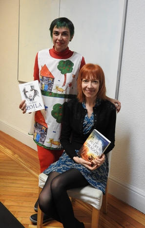 Chiki Fabregat y Ana Alonso