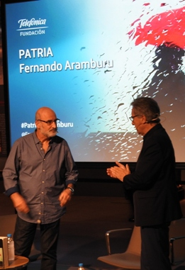 Fernando Aramburu e Iñaki Gabilondo