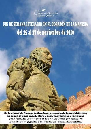 Fin de semana literario en Álcazar de San Juan
