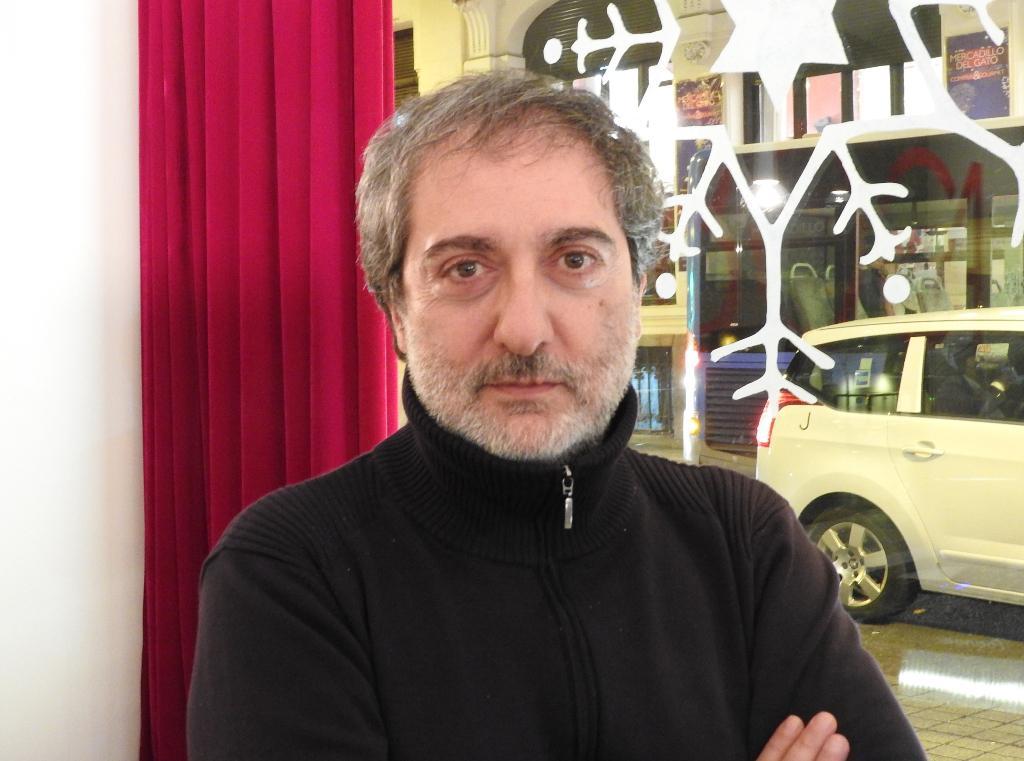 """Javier Olivares, ganador del I Premio """"Los Cerros de Úbeda"""", en el marco del V Certamen Internacional de Novela Histórica de la ciudad de Úbeda"""
