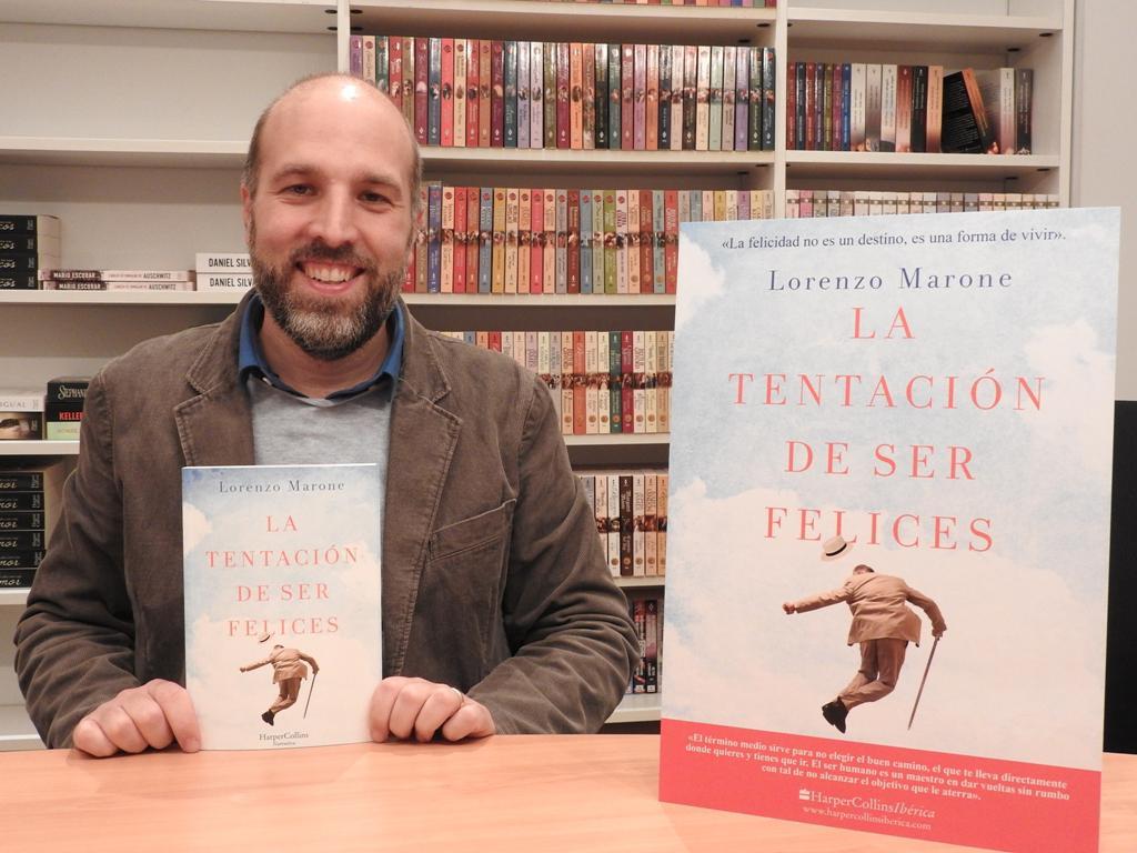 """Entrevista a Lorenzo Marone, autor de """"La tentación de ser felices"""""""