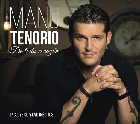 El cantante sevillano Manu Tenorio presenta su biografía,