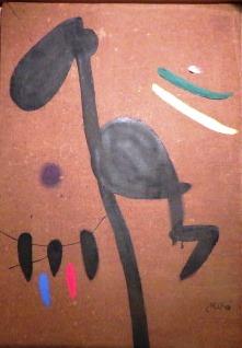 Mujer, pájaro, 1976. Joan Miró