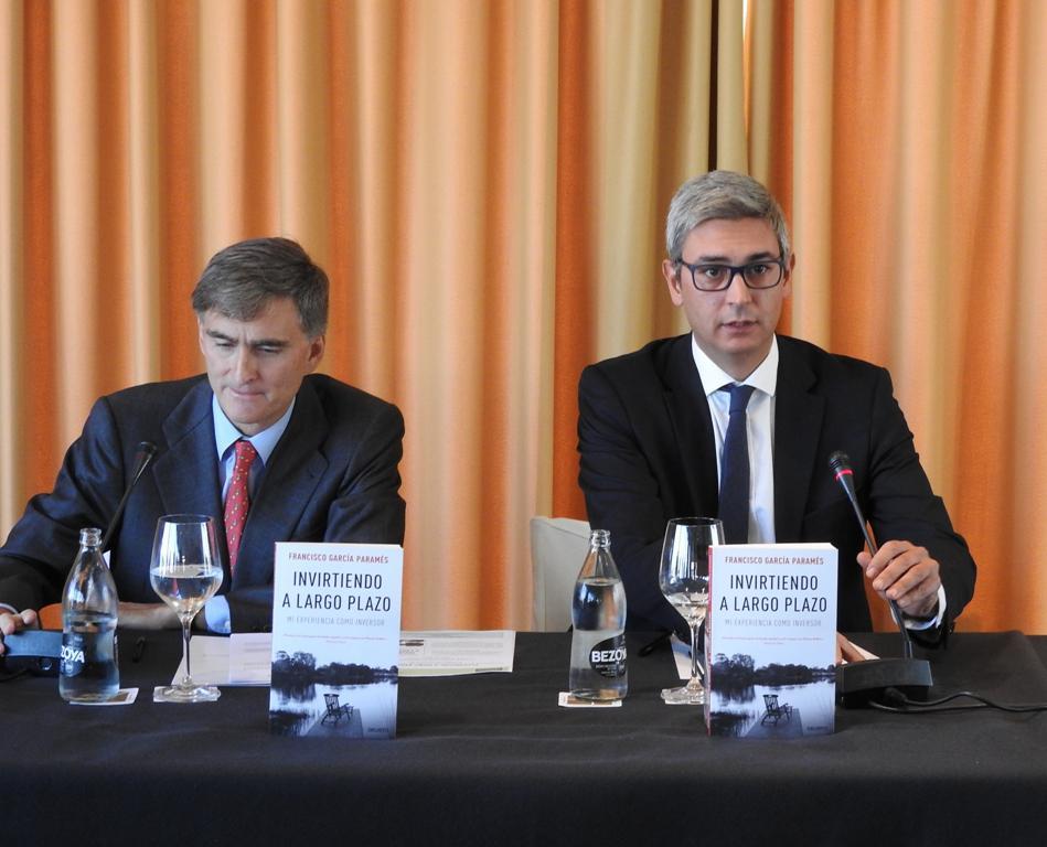 """El reputado inversor Francisco García Paramés presenta """"Invirtiendo a largo plazo"""""""