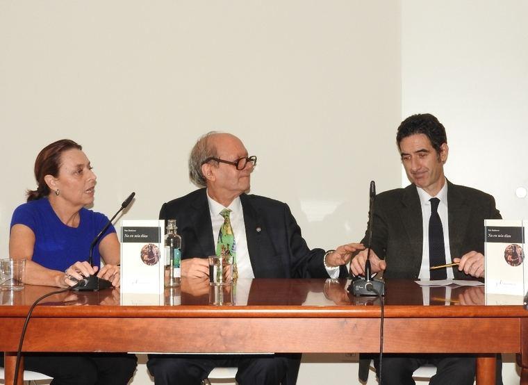Ana Gabín, Pere Ginferrer y Ignacio Garmendía