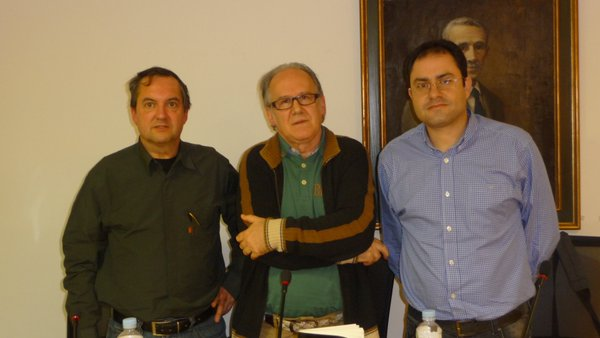 Rafael Marín, Atilano Sevillano y David Acebes