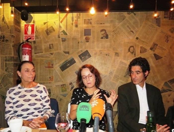 Ana Gav�n, Marta Sanz e Ignacio Garmendia