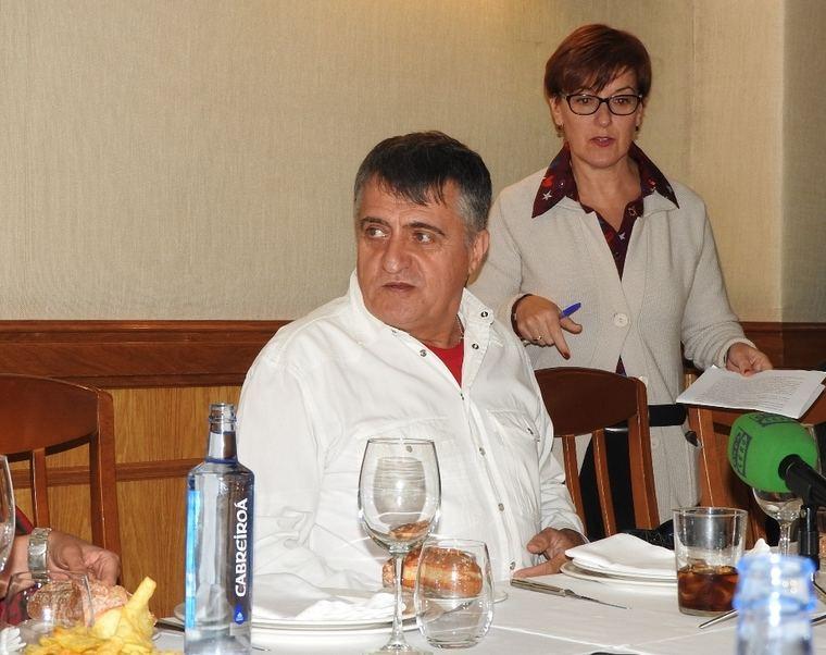 El Gran Gyoming y su editora Ángeles Aguilera
