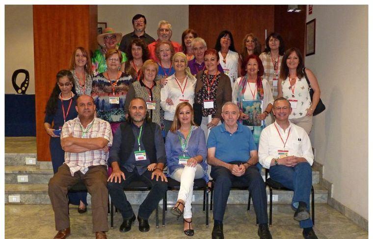Foto de los participantes en el encuentro