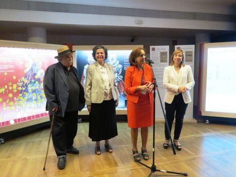 """Presentación de la exposición:""""16 personajes que maravillan y... Miguel de Cervantes"""""""