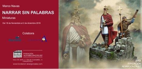 Se inaugura en la Fundación Alvargonzález de Gijón la exposición de micro-esculturas del artista Marco Navas