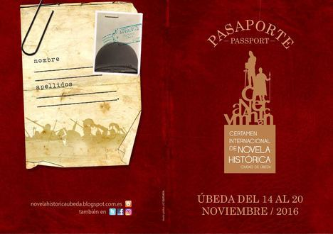 """Un pasaporte para viajar por la historia con el Certamen Internacional de Novela Histórica """"Ciudad de Úbeda"""""""