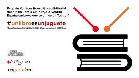 Penguin Random House Grupo Editorial y Cruz Roja Juventud lanzan la campaña #unlibroesunjuguete