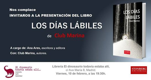 ¿Quieres conocer a los integrantes del Club Marina y sus Días Lábiles?