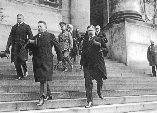 Friedrich Ebert en la cima del socialismo alemán