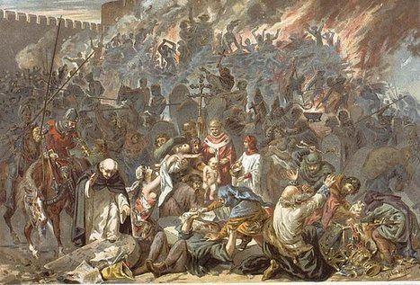 La persecución a los judíos en la crisis bajo medieval