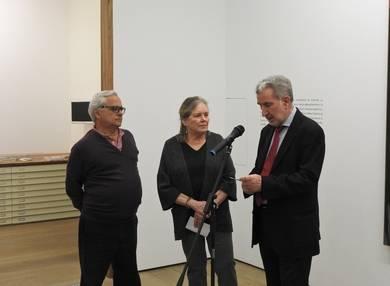 Juan Cruz, Carolyn Richmond y Miguel Fernández-Braso