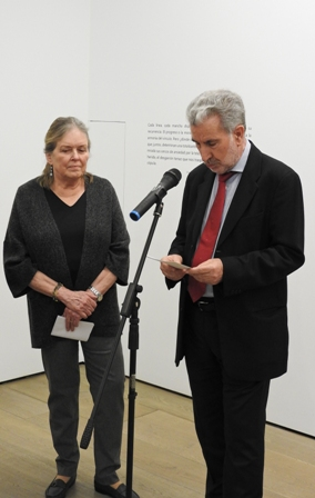 Carolyn Richmond y Miguel Fernández-Braso
