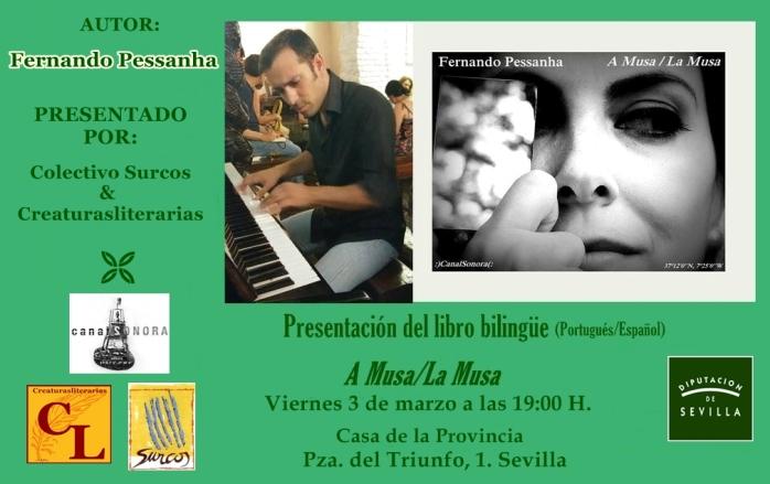 Presentación de 'A musa/La musa', del autor portugués Fernando Pessanha en Sevilla