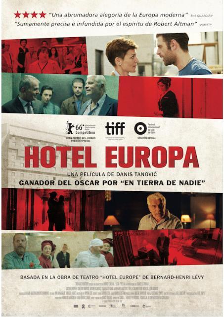 """""""Hotel Europa"""", escrita y dirigida por Danis Tanović"""