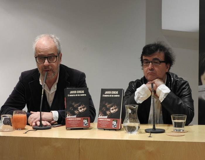 Claudio López Lamadrid y Javier Cercas