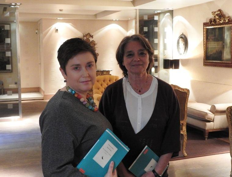 Nuria Capdevila-Argüelles y Cristina Cerezales Laforet