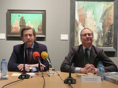 A la izquierda, Javier Gomá, director, y Manuel Fontán del Junco, director de exposiciones de la Fundación Juan March
