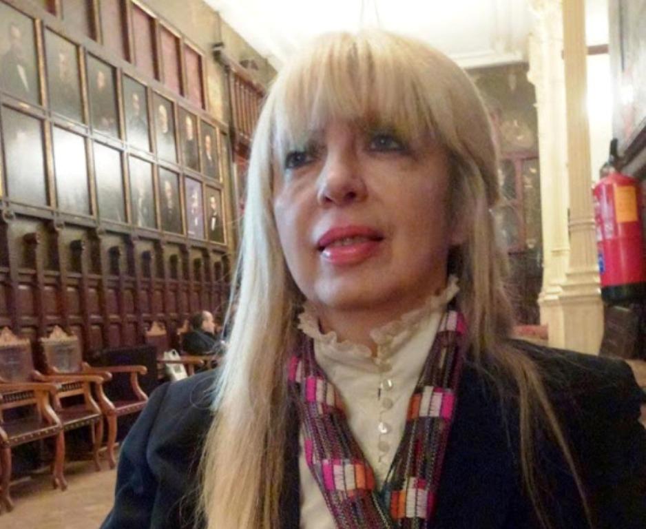 Llega a España Liliana Díaz Mindurry