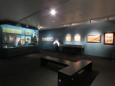 """Vista de la exposición """"El arte de saber ver. Manuel B. Cossío, la Institución Libre de Enseñanza y el Greco"""""""