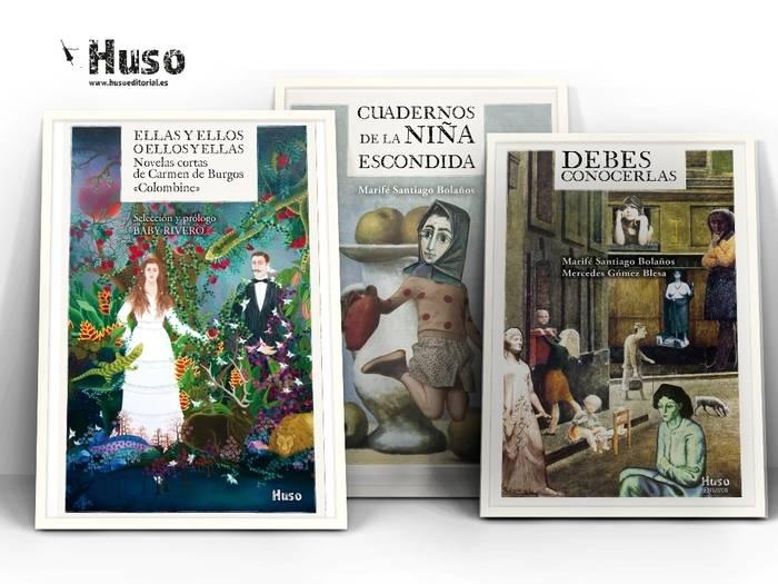 Los tres libros que presentan las autoras