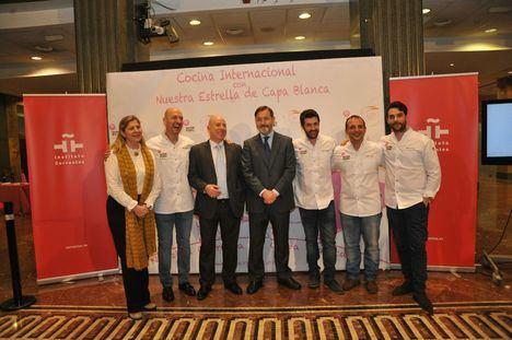"""Presentación de la segunda edición de """"Cocina Internacional con Nuestra Estrella de Capa Blanca"""""""
