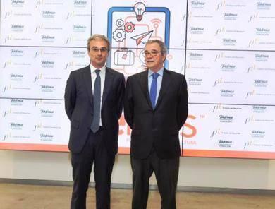 Jose Manuel Lara García y César Alierta