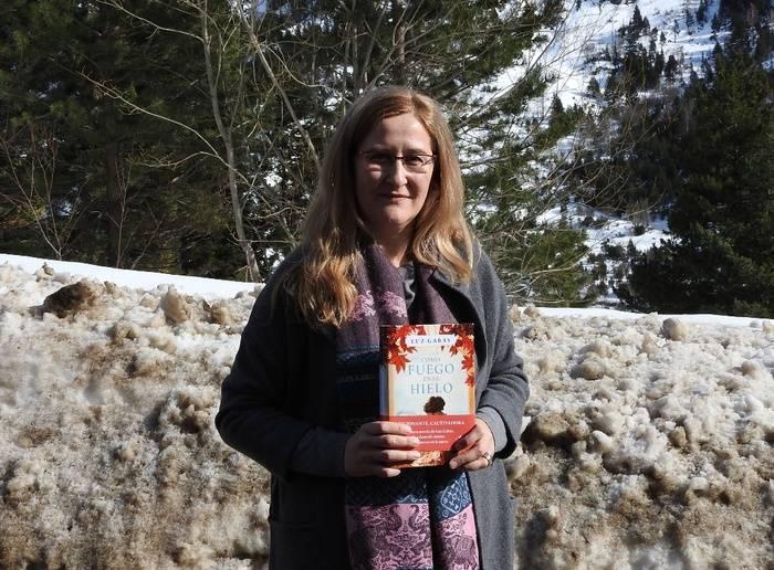 """Escenarios de una novela, """"Como fuego en el hielo"""", en el valle escondido con Luz Gabás"""