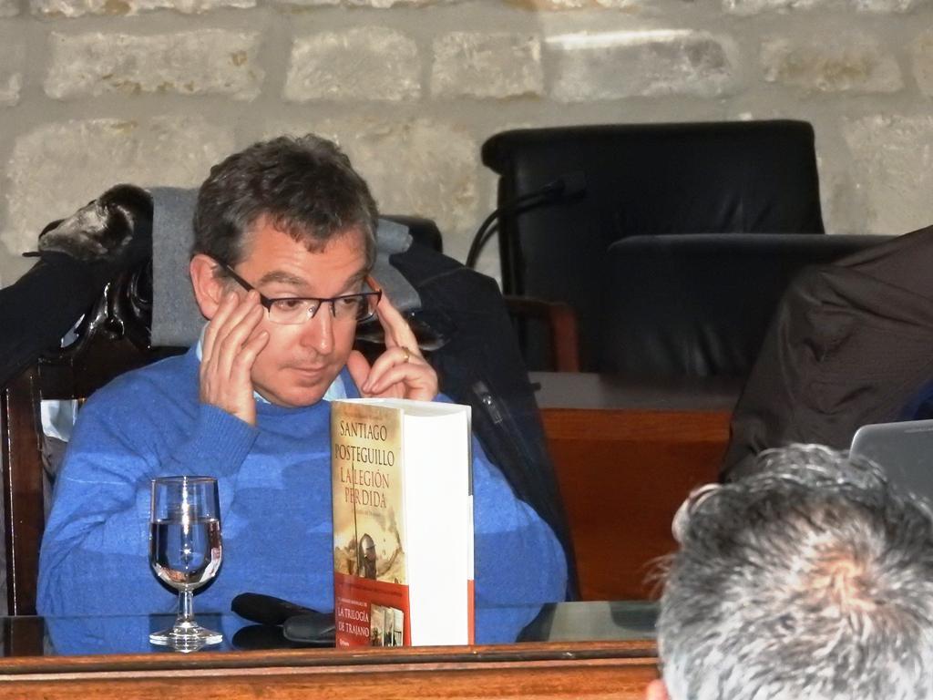 Entrevista a Santiago Posteguillo: