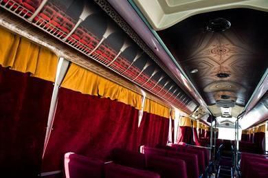 Interior del Teatro Bus