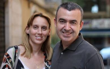 Noemí Trujillo y Lorenzo Silva
