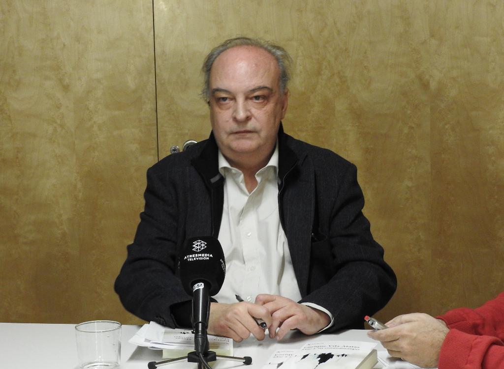 """Enrique Vila-Matas presenta su última novela, """"Mac y su contratiempo"""""""
