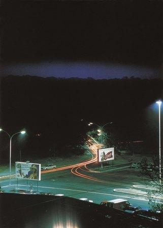 Piazza Pugliese, de la serie Generic Night Cities, 1992