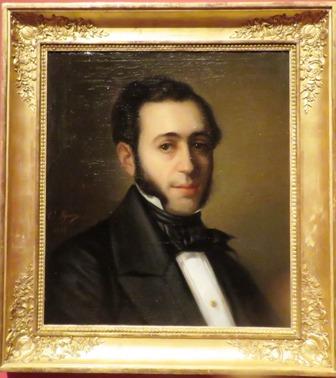 Retrato de Barbieri, de Cosme de Algarra