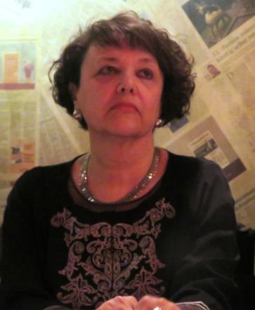 Rafi Valenzuela, viuda del poeta Eduardo García