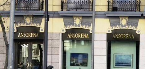 Exposición FINGERE, de Joaquín Millán en la prestigiosa Galería de Arte Ansorena, en la calle Alcalá número 52 de Madrid