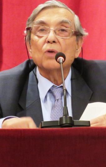 Don Luis Martínez-Calcerrada, autor del libro