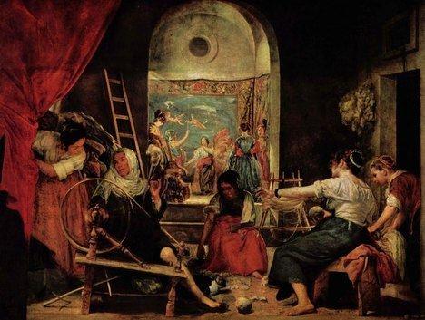 Las Hilanderas (la mujer de nácar)