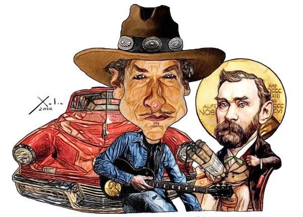 Xulio Formoso: Dylan songs Puedes encargar un póster de este dibujo de Xulio Formoso a publicidad@enlacemultimedia.es