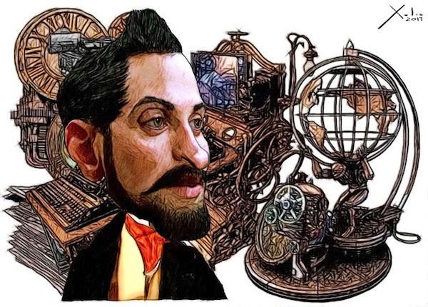 Xulio Formoso: Larra Puedes encargar un póster de este dibujo de Xulio Formoso a publicidad@enlacemultimedia.es