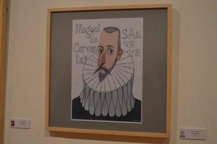 """Exposición """"100 Caras de Cervantes"""""""