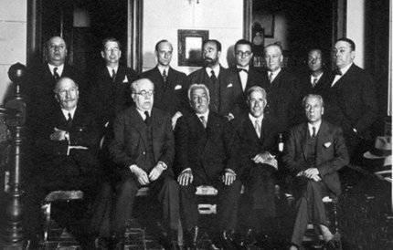 Los primeros diputados de la República en Guadalajara